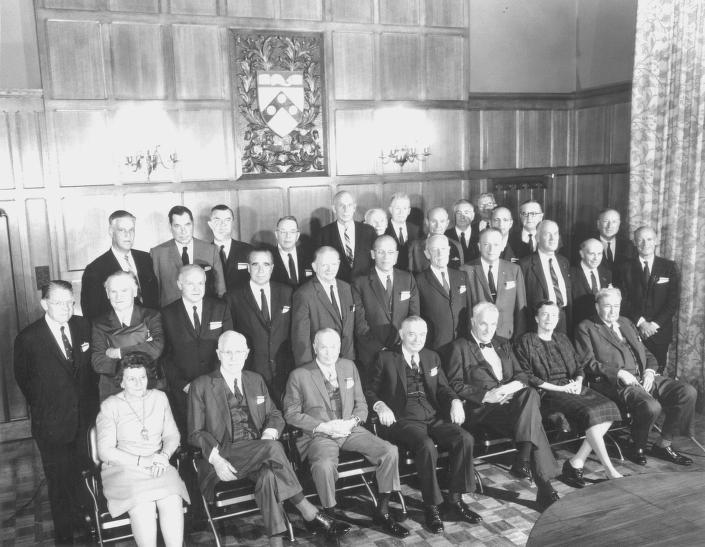 The University Trustees circa 1965