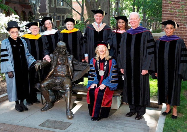 Penn Honorary Degree Recipients 2007