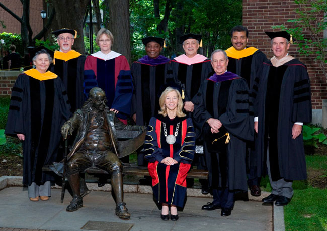 Penn Honorary Degree Recipients 2008