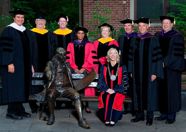 Penn Honorary Degree Recipients 2010