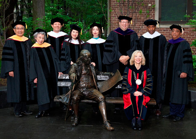 Penn Honorary Degree Recipients 2011