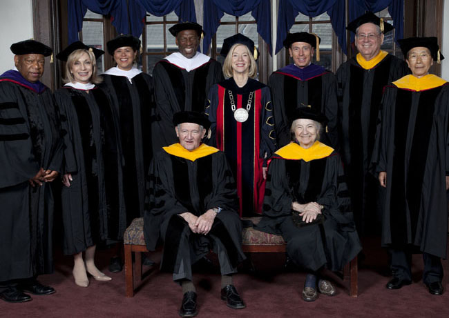 Penn Honorary Degree Recipients 2012