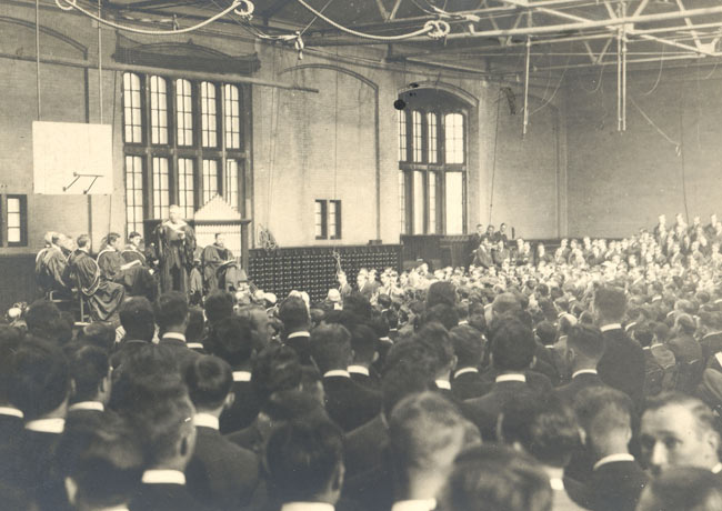 Penn Convocation ceremony 1913