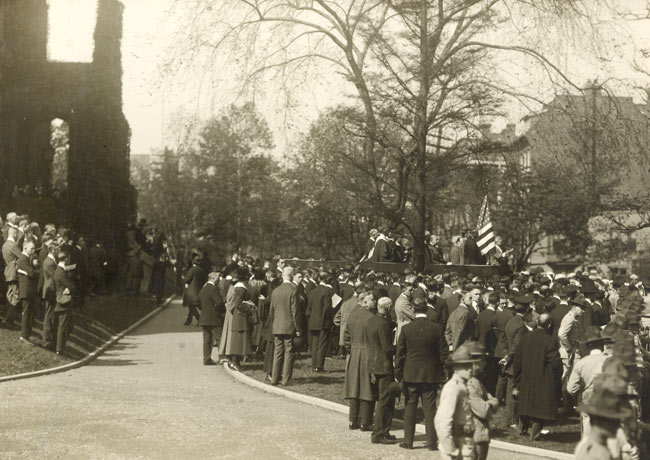 1918 Penn Convocation ceremony