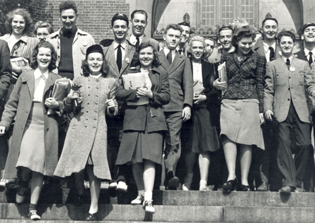 1940 Penn Convocation celebration