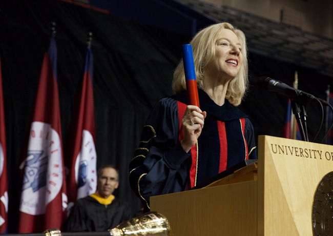 2011 Penn Convocation ceremony