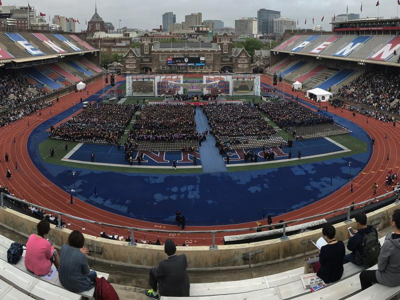2018 Commencement in Stadium
